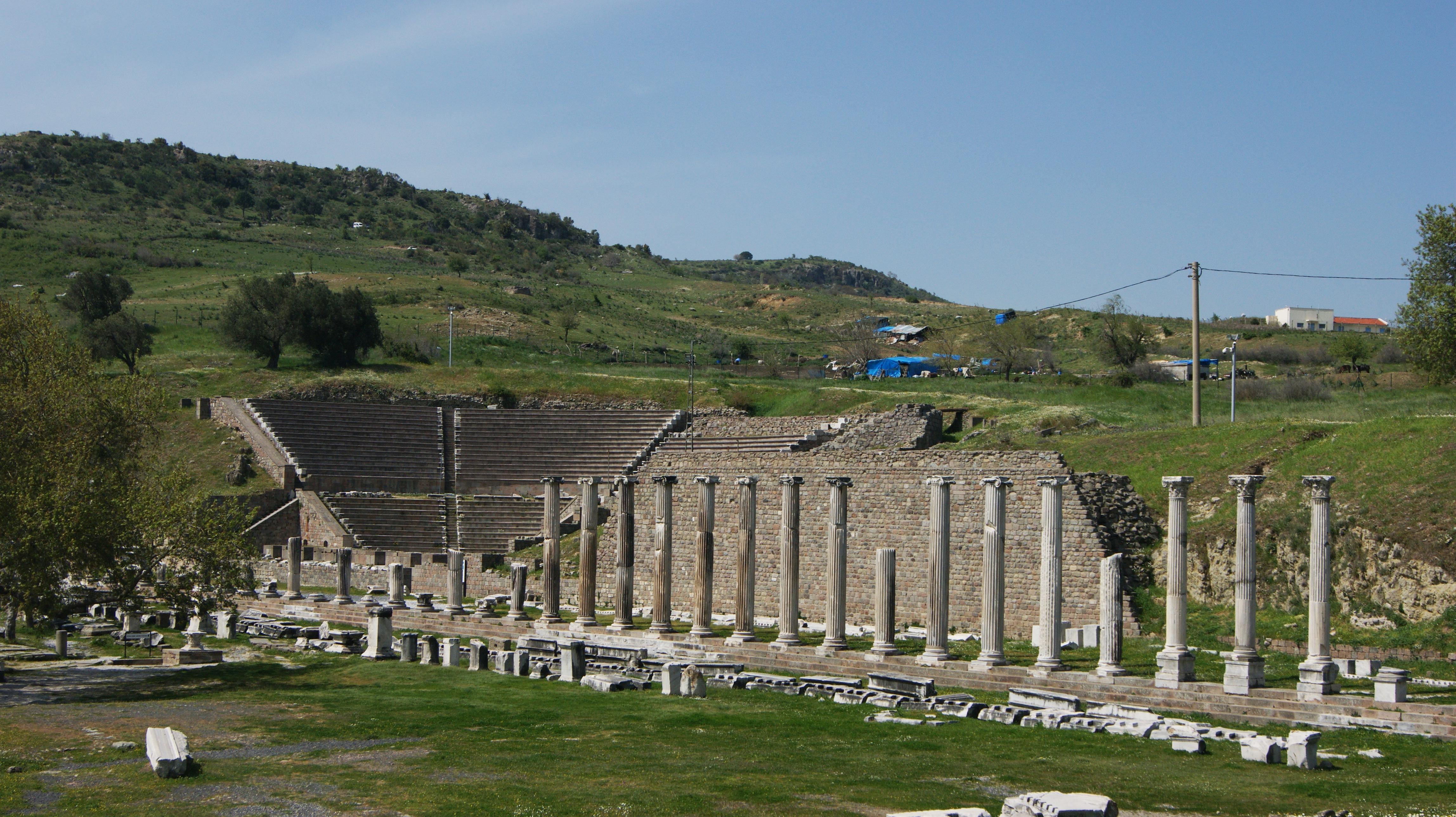 Bergama Asklepion Tarihi ve Görülecek Yerleri  SD Blog